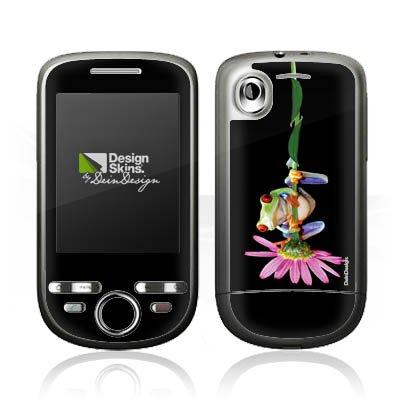DeinDesign HTC Tattoo Case Skin Sticker aus Vinyl-Folie Aufkleber Frosch Blume Frog