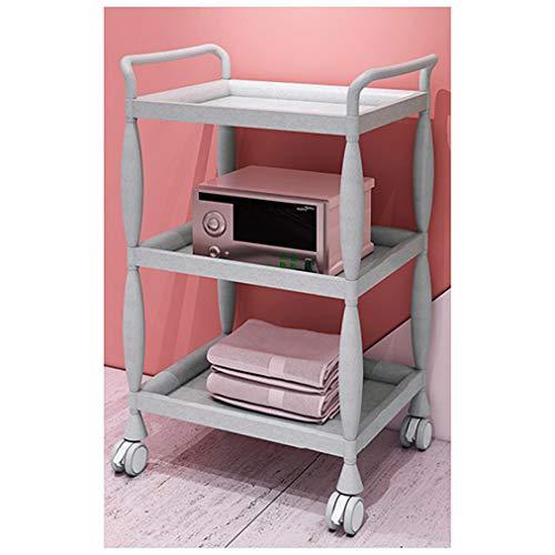 ADASP Friseurwagen Beauty Salon Trolley, Rollwagen, Aufbewahrungsbox mit Rädern, Friseursalon-Servicewagen, Werkzeugstation, Spa Mobile Trolley, Schminkwagen