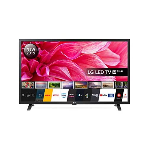 LG Electronics 32LM630BPLA.AEK 32-Inch HD Ready Smart LED TV with Freeview Play – Ceramic Black Colour (2019 model)