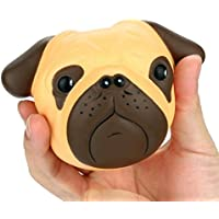 Slow Rising Squishies Jumbo, Toamen 8CM Exquisite Fun Crazy Dog Scented Squishy Charm Slow Rising Simulation Kid Toy Key Cell Phone Pendant Strap Gift