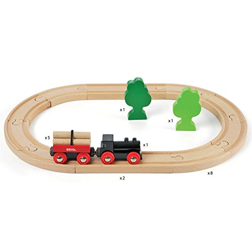 Imagen 5 de Brio - Set circuito de tren con bosquecito (33042)