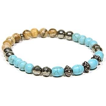 Bracelet BNA606-8.0 Mediterraner Strand Herrenarmband Damenarband