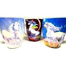 Juego tazas para cafe unicornio 3 piezas