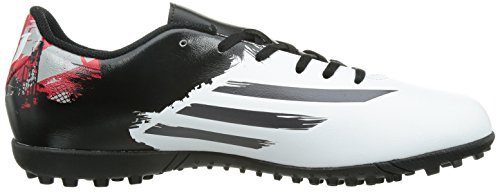 adidas Messi 10.4 Astroturf Mens Football Boots (White-Black-Red) Weiß