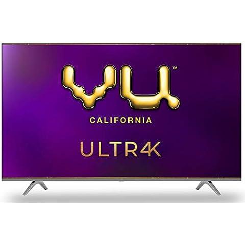 Vu 164 cm (65 inches) 4K Ultra HD Smart Android LED TV | With 5-Hotkeys 65UT (Black) (2020 Model)