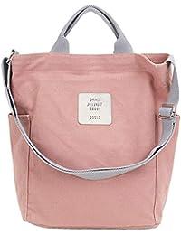 406948e0e70e4 Tlend Umhängetasche Damen Groß Handtasche Damen Schultertasche Tasche  Canvas Damen Henkeltasche Messengertasche für…