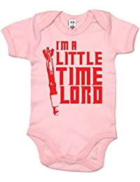 IiE, I'm a little Time Lord, Baby Girl, Short Sleeve Bodysuit