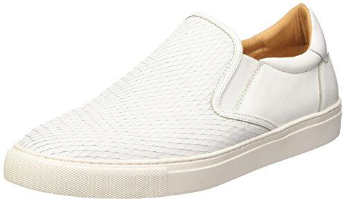 Belmondo 752263 07, Mocassins homme Blanc - Weiß (bianco)