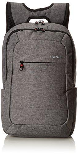 MELIANDA MA-14100 stylischer Rucksack aus wasserabweisenden robustem Polyestergewebe in Darkgrey