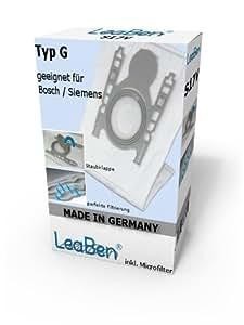Amazon.de: 20 Staubsaugerbeutel geeignet für Siemens Z4.0
