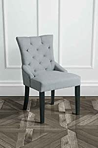 MY Furniture High Quality Buttoned Upholstered Scoop