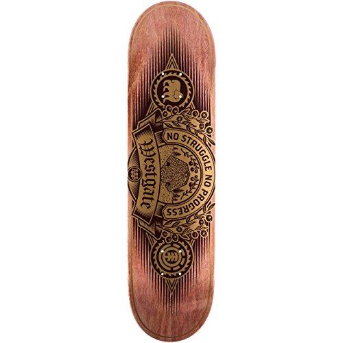 Element Skateboard Deck Westgate Carver 8.25