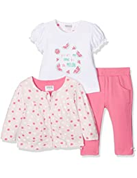 Kanz Baby-Mädchen Bekleidungsset Sweatjacke 1/1 Arm + T-Shirt 1/4 Ar