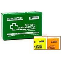 LEINA-WERKE 20005 Betriebsverbandkasten DIN 13157-C mit Wandhalterung GELB preisvergleich bei billige-tabletten.eu