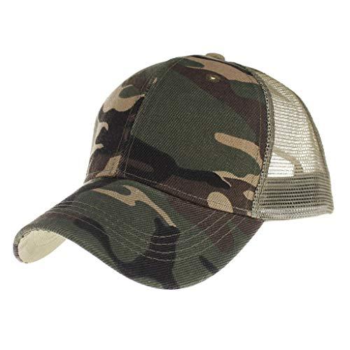 Saingace Unisex Baseball Cap Mode Sommer Kappe Mesh Hüte Hip Hop caps Chic Camo Cap Sport Mütze
