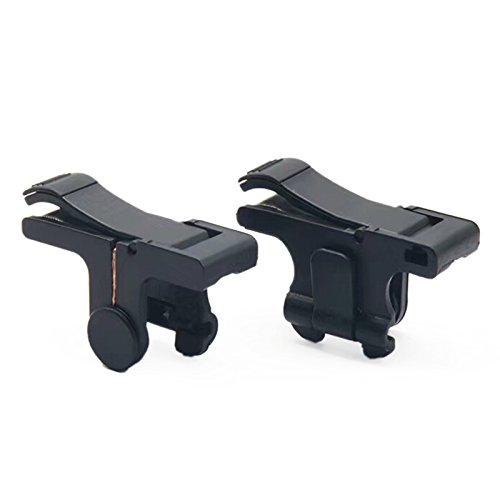 Cikuso 1 par de Manija movil para Juegos de telefonos para L1R1 Controlador de Disparos Juego PUBG