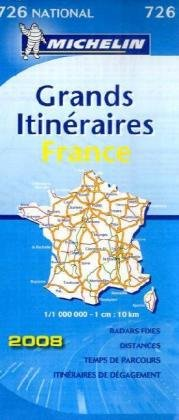 Grands itinéraires France : 1/1 000 000