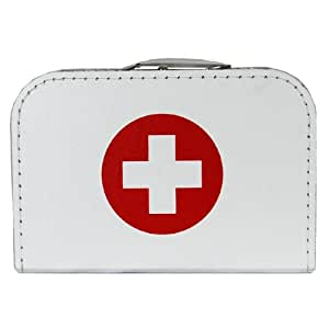 F.I.G. Doctor Case, 30 Cm, White With Cross