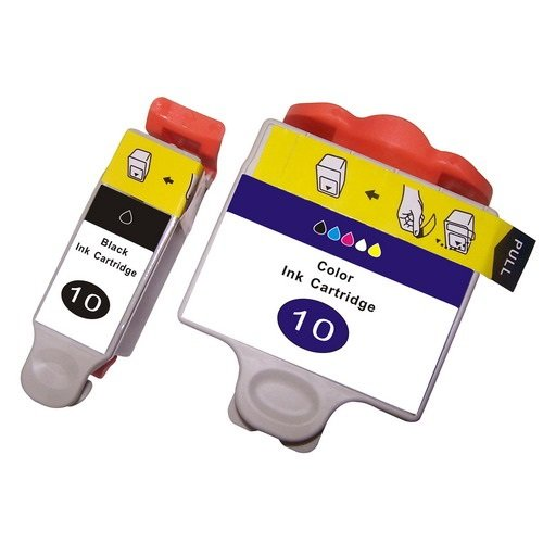 2 Druckerpatronen für Kodak Hero 6.1, Hero 7.1, Hero 9.1, ESP 3, ESP 5, ESP 7, ESP 9, ESP 3200, ESP 3250, ESP 5000, ESP 5100, ESP 5200, ESP 5210, ESP 5250, ESP 5300, ESP 5500, ESP 7200, ESP 7250, ESP 9200, ESP 9250, ESP Office 6100, ESP 6150 | kompatibel zu Kodak 10 (10B & 10C)