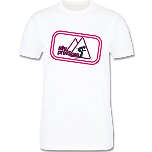 Après Ski - Ski Princess - Herren Premium T-Shirt Weiß