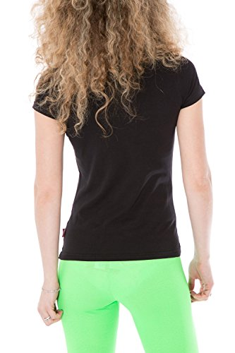CARLSBERG - Femme t-shirt regular fit printed cbd2253 Noir