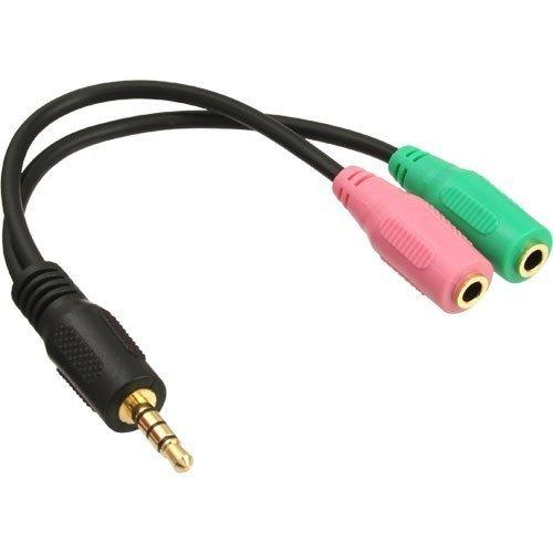 InLine® 99302I Audio Headset Adapterkabel (Headset-adapter)