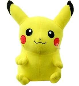 """Toy Factory Pokemon Pikachu 9"""" Plush Stuffed Toy"""