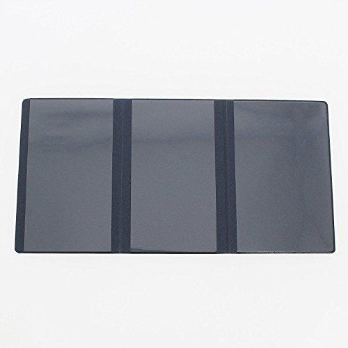 Etui PVC gomme pour carte grise (133×264 mm) bleu marine Meilleure offre de prix