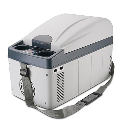 Atefacr Glacière Réfrigérateur de réfrigérateur de voiture 20L Réfrigérateur portable mini de réfrigérateur de congélateur chaud et froid 12V