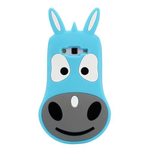 Back Case 3D âne/Animaux Bleu Coque de protection pour Apple iPhone 64,7Case Étui de protection