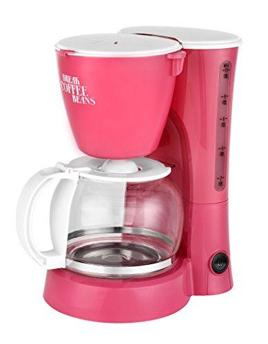 Kalorik Kaffeeautomat für bis zu 10 Tassen 1,25 L, 800 W, rosa