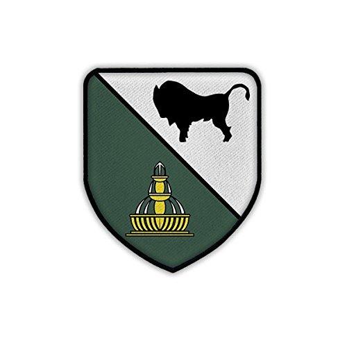 Copytec Patch/Aufnäher - PzBtl 363 Wappen Abzeichen Emblem Panzerbataillon Bundeswehr Abzeichen Külsheim Prinz Eugen Kaserne Bund Panzertruppe #17985
