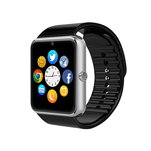 Smart-Watch-CulturesIn-GT08-Touch-Screen-Bluetooth-WristWatch-with-CameraSIM-Card-Slotpedometer-analysisSleep-Monitoring-for-Android-Full-Functions-and-IOS-Partial-Functions-black