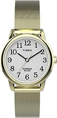 Timex Womens Quartz Watch, Analog Display And Stainless Steel Strap - TW2U08000