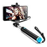 Best Iphone 6 Plus Selfie Sticks - Selfie Stick, Case U Extendable [Battery Free] Wired Review