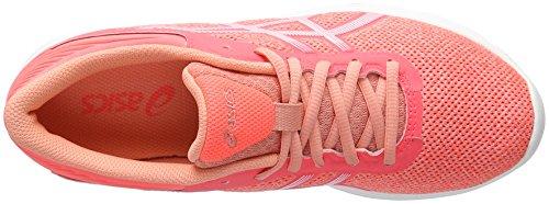 Asics Nitrofuze, Gymnastique femme Orange (Peach Melba/White/Flash Coral)