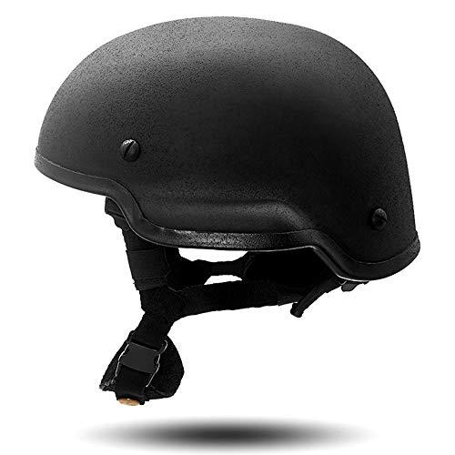 MICH2002 Kugelsicherer Helm Kopfschutz Familie, individuell Sicherheit Streik Protestmarschausrüstung Militärischer Fan Spezialeinheiten CS Versorgung (Kugelsicherer Helm(B))
