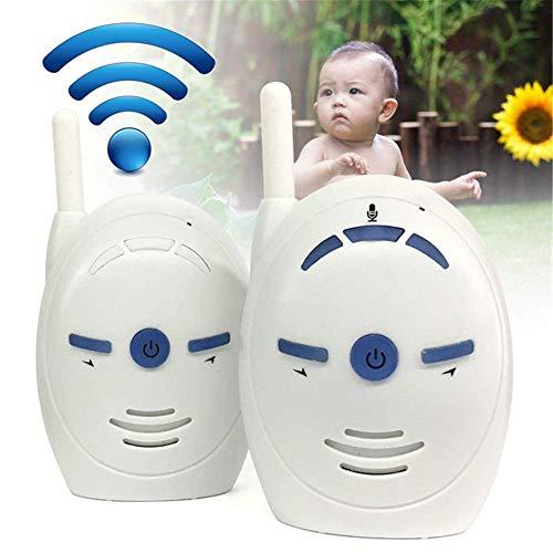 Tookne 2,4 GHz Digital Audio Babyphone V20 Zwei-Wege-Radio Babysitter Audio Sprachüberwachung Weinen Alarm Baby Sound Monitor (Günstige 2-wege-radios)