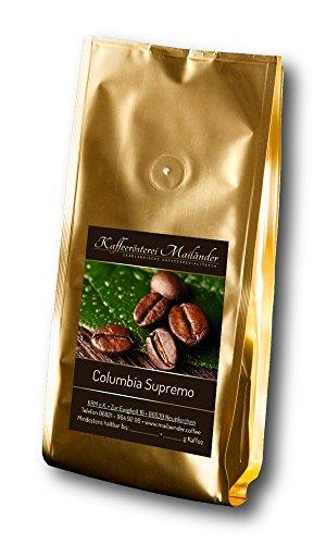 Kaffeerösterei Mailänder Columbia Supremo, 100% Arabica-Kaffee aus Kolumbien, würzig, vollmundig...