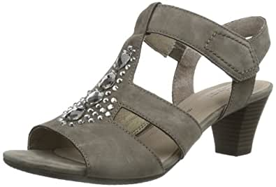 Gabor Shoes Gabor 85.861.13 Damen Sandalen, Grau (fumo), EU 36 (UK 3.5) (US 6)
