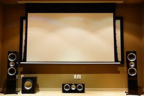 41VwSTqjvYL - HiViLux para empotrar en techos hipertensión Motor lienzo UHD 4 K/3D/Full HD/ganancia 1,0 tela blanca profesional cine diapositiva/solo 13 cm instalación altura/con mando a distancia