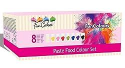 FunCakes Lebesmittelfarbe Paste Set 8-teilig