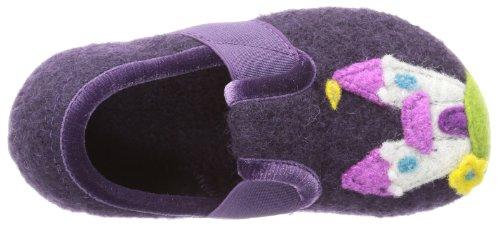 Living Kitzbühel T-Modell Prinzessin & Schloß 2424 Mädchen Hausschuhe Violett (violett 378)