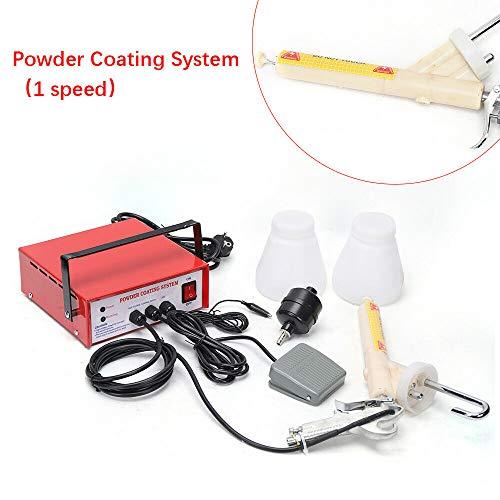 YUNRUX - Pistola a spruzzo per verniciatura a polvere, elettrostatica