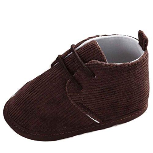 Clode® Bébé Tout Infant Bottes de neige Chaussures Bandage souple Sole Prewalker Crib Shoes