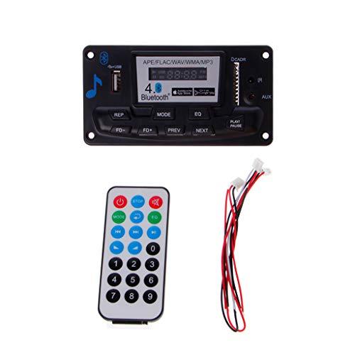 4.0 Bluetooth MP3 Decoder Board Modul 12 V DIY USB SD MMC APE FLAC WAV AUX FM Fernbedienung