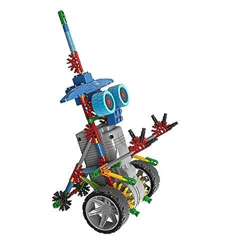 NEW 2017 Self-Assembly Building Robotic Dinosaurs Motor Building Blocks Bricks Robot DIY Toy Kit,Battery Motor Operated, 3D Puzzle Design Alien Primate (Robotic Warrior)
