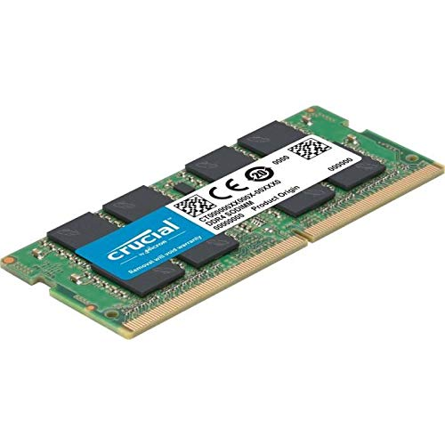 Crucial CT4G4SFS624A 4GB Speicher (DDR4, 2400 MT/s, PC4-19200, Single Rank x16, SODIMM, 260-Pin)
