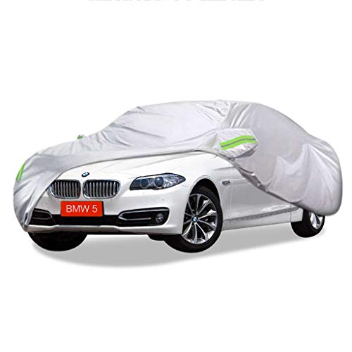 SXET-Car Cover BMW Car Cover 5 Series Special Waterproof UV Anti-scratch Four Seasons Universal Windshield Cover Oxford Fabric Dust Cover (color: BMW523Li)