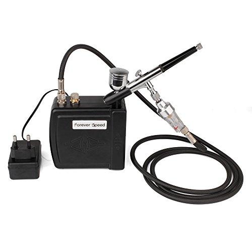 100-240V Airbrush Kompressor Set Air Kompressor Kit Tattoo Airbrush Pistole Klein Kompressor für Handwerk Tool Schwarz